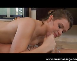 Abby cross nuru massage